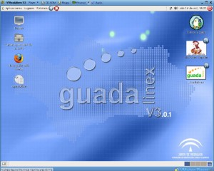 Trabajando con Guadalinex desde VMware
