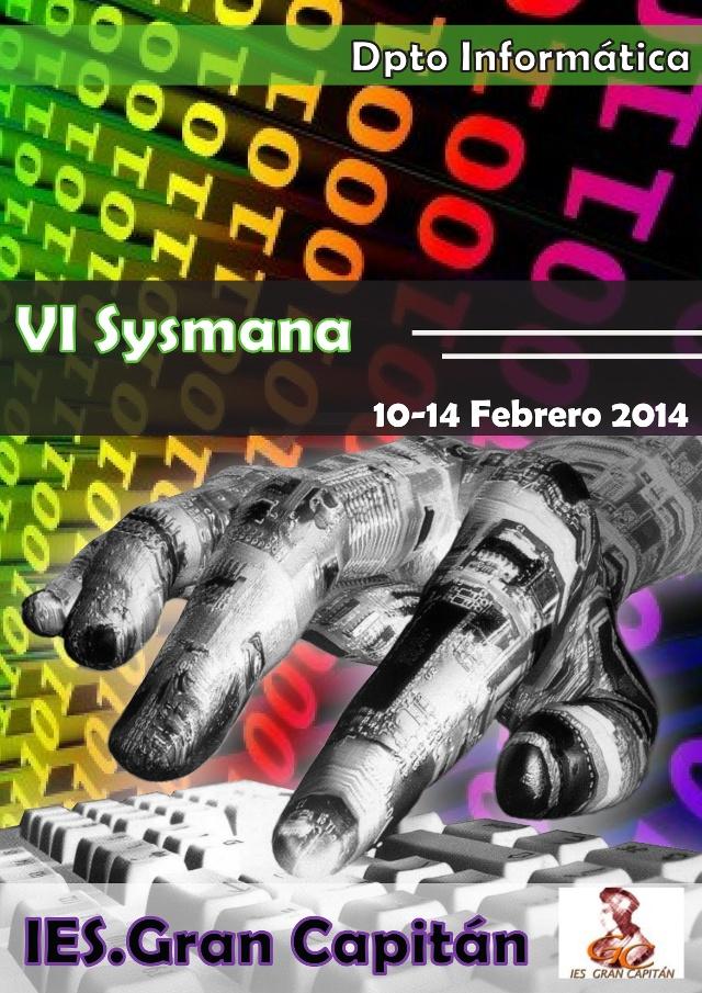 Cartel Sysmana 2014